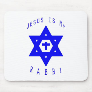 Jesus is my Rabbi Mouse Pad