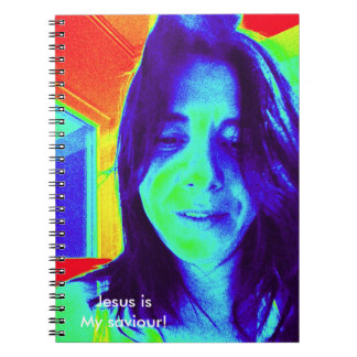 Jesus is my saviour! spiral notebook