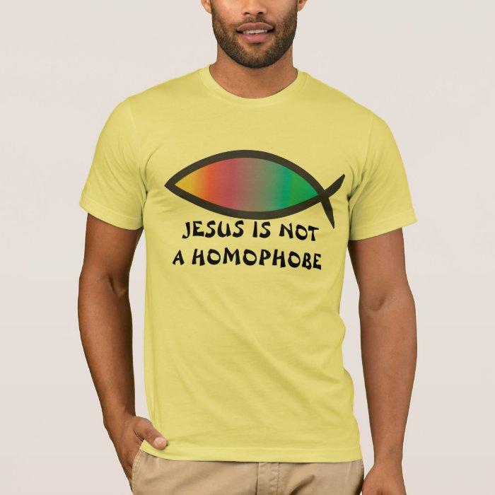Jesus Is Not a Homophobe 2 T-Shirt