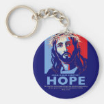 Jesus is Our greatest Hope Keychain