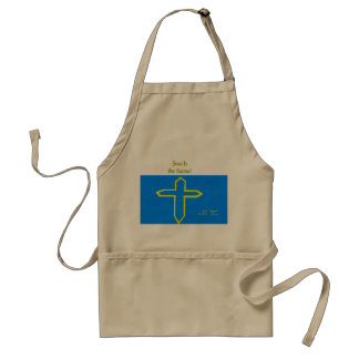 Jesus is our saviour! standard apron