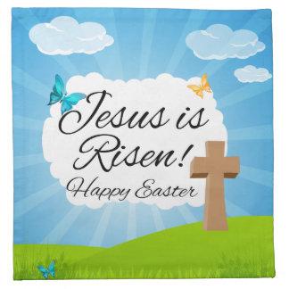 Jesus is Risen, Christian Easter Napkin