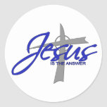 Jesus is the Answer Stickers