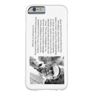 Jesus is the Human Face of God - Jürgen Moltmann Barely There iPhone 6 Case