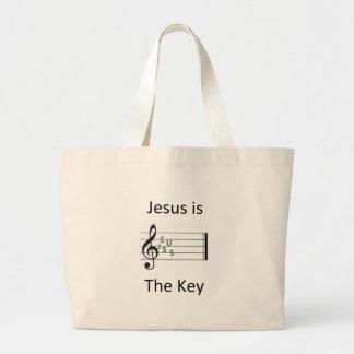 Jesus Is The Key Bag