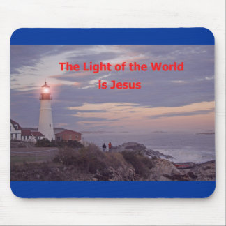 Jesus is the Light of the World! Mouse Mat
