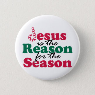 Jesus is the Reason 6 Cm Round Badge