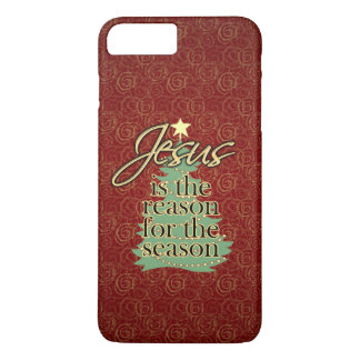 Jesus is the Reason Christian Christmas iPhone 8 Plus/7 Plus Case