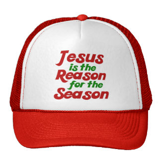 Jesus is the Reason for the Christmas Season Mesh Hat