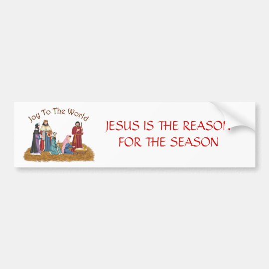 JESUS IS THE REASON FOR THE SEASON BUMPER
