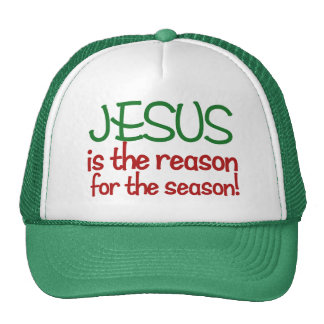 Jesus is the reason for the Season Cap