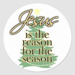 Jesus is the Reason for the Season, Christmas Sticker