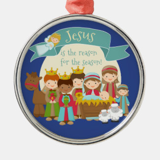 """Jesus is the reason for the season"" Ornament"