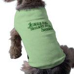 Jesus is the Reason for the Season Sleeveless Dog Shirt