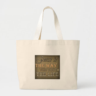 Jesus Is The Way Canvas Bags