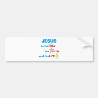 Jesus is the Way the Truth and the Life Bumper Sticker