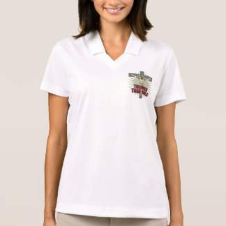Jesus is Tougher Than Nails Polo Shirt