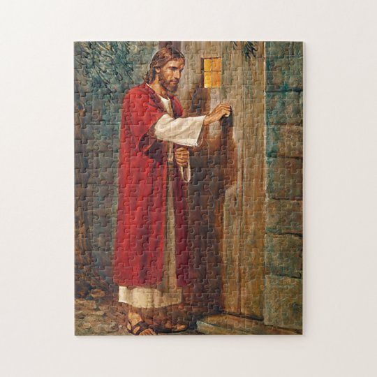 Jesus knocks On The Door Jigsaw Puzzle