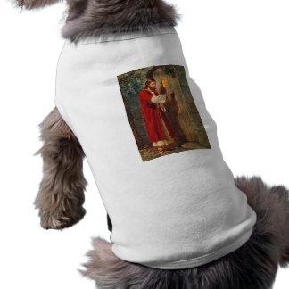 Jesus Knocks On The Door Sleeveless Dog Shirt
