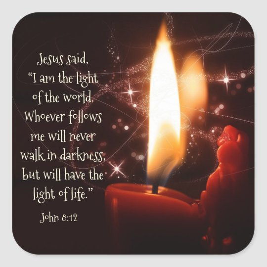 Jesus Light of the World Psalm 8, Bible,