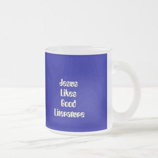 Jesus Likes Good Literature Coffee Mug
