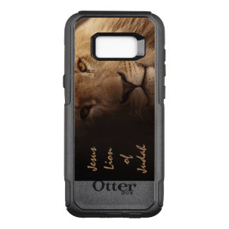 Jesus Lion of Judah Inspirational Christian Quote OtterBox Commuter Samsung Galaxy S8+ Case