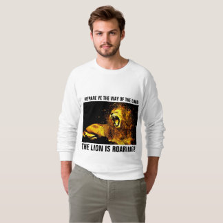 JESUS LION OF JUDAH ROARING, Christian T-shirts