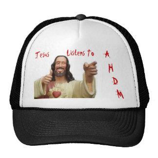 Jesus Listens To AHDM Cap