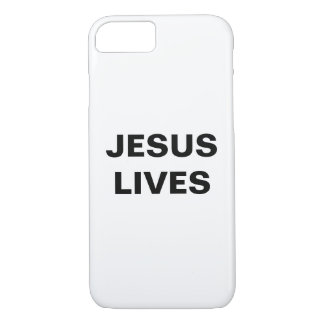 """Jesus Lives"" Apple iPhone 8/7 Case"