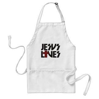 Jesus Lives Standard Apron