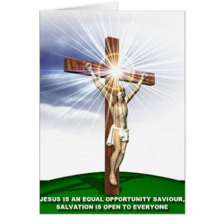 Jesus, Lord and Savour Greeting Card