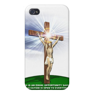 Jesus, Lord and Savour iPhone 4/4S Covers