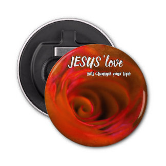 JESUS 'love Bottle Opener