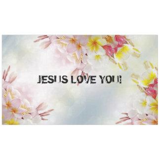 JESUS LOVE TABLECLOTH