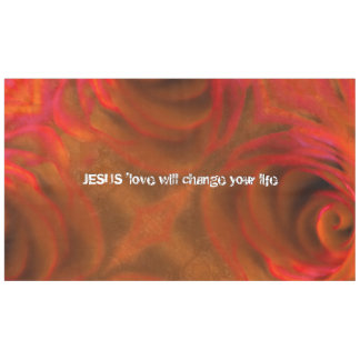JESUS 'love Tablecloth