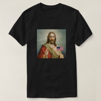 Jesus Loves America Mens Dark t-shirt
