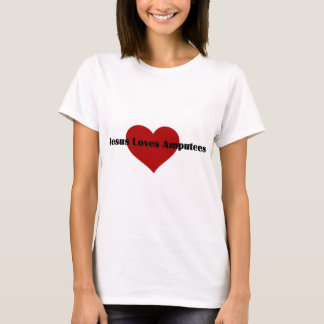 Jesus Loves Amputees T-Shirt