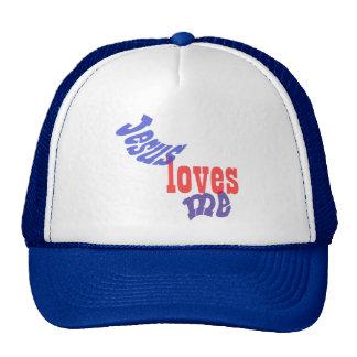 Jesus Loves Me Mesh Hat