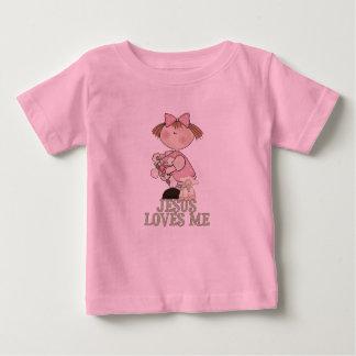 Jesus Loves Me Girl Baby T-Shirt