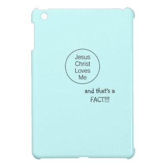 Jesus Loves Me hard case for iPad Mini Cover For The iPad Mini