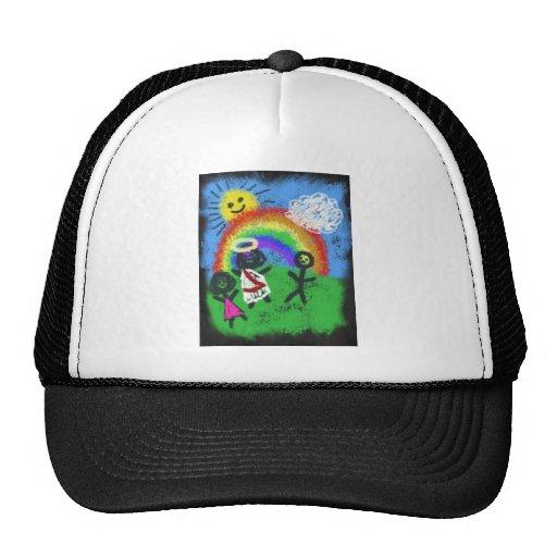 Jesus Loves Me Mesh Hats