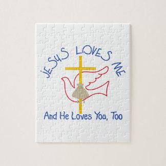 Jesus Loves Me Jigsaw Puzzle