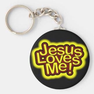 Jesus Loves Me! Keychain