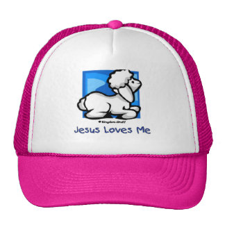 Jesus Loves Me Lamb Cap
