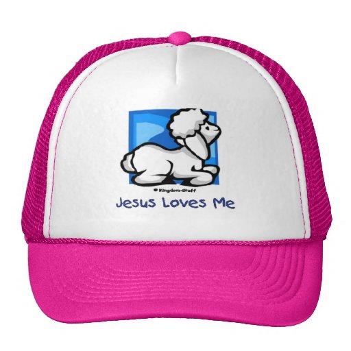 Jesus Loves Me Lamb Hat