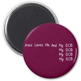 Jesus Loves Me Magnet
