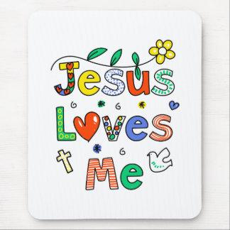 Jesus Loves Me Mouse Mat