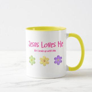 Jesus Loves Me Mug