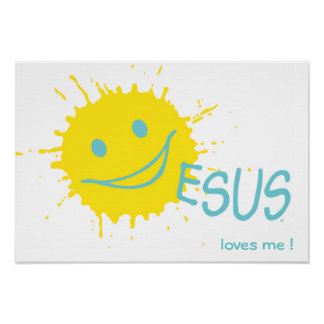 Jesus loves me ! Poster