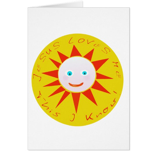 Jesus Loves Me Products Card
